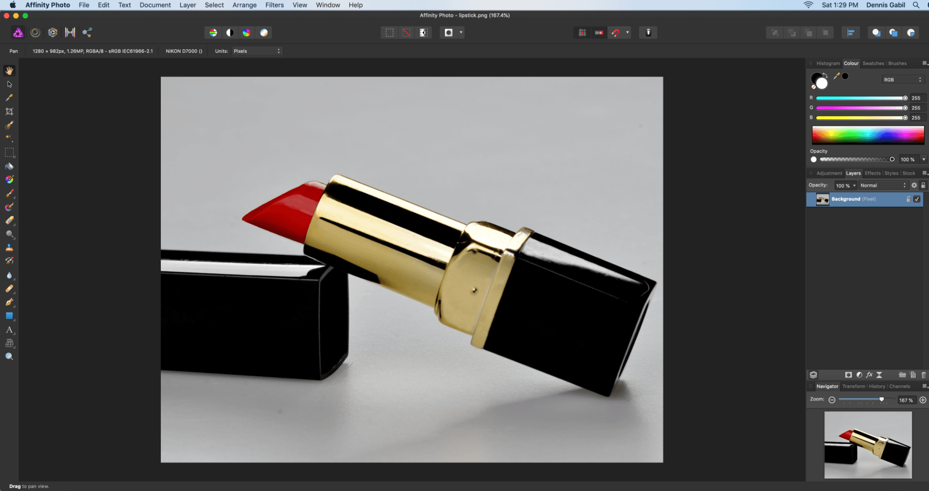 Affinity Photo: Select and Change Color (Recolor)