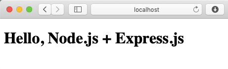 Using Express js (Node js Framework) with Pug (Templating