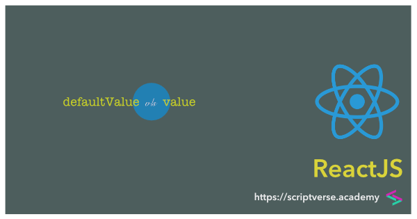 React/ReactJS: Difference between defaultValue and value