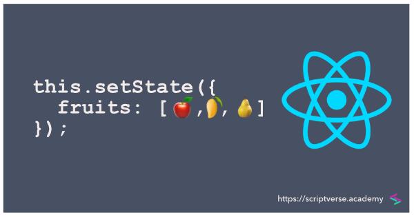 React/ReactJS: Update an Array State